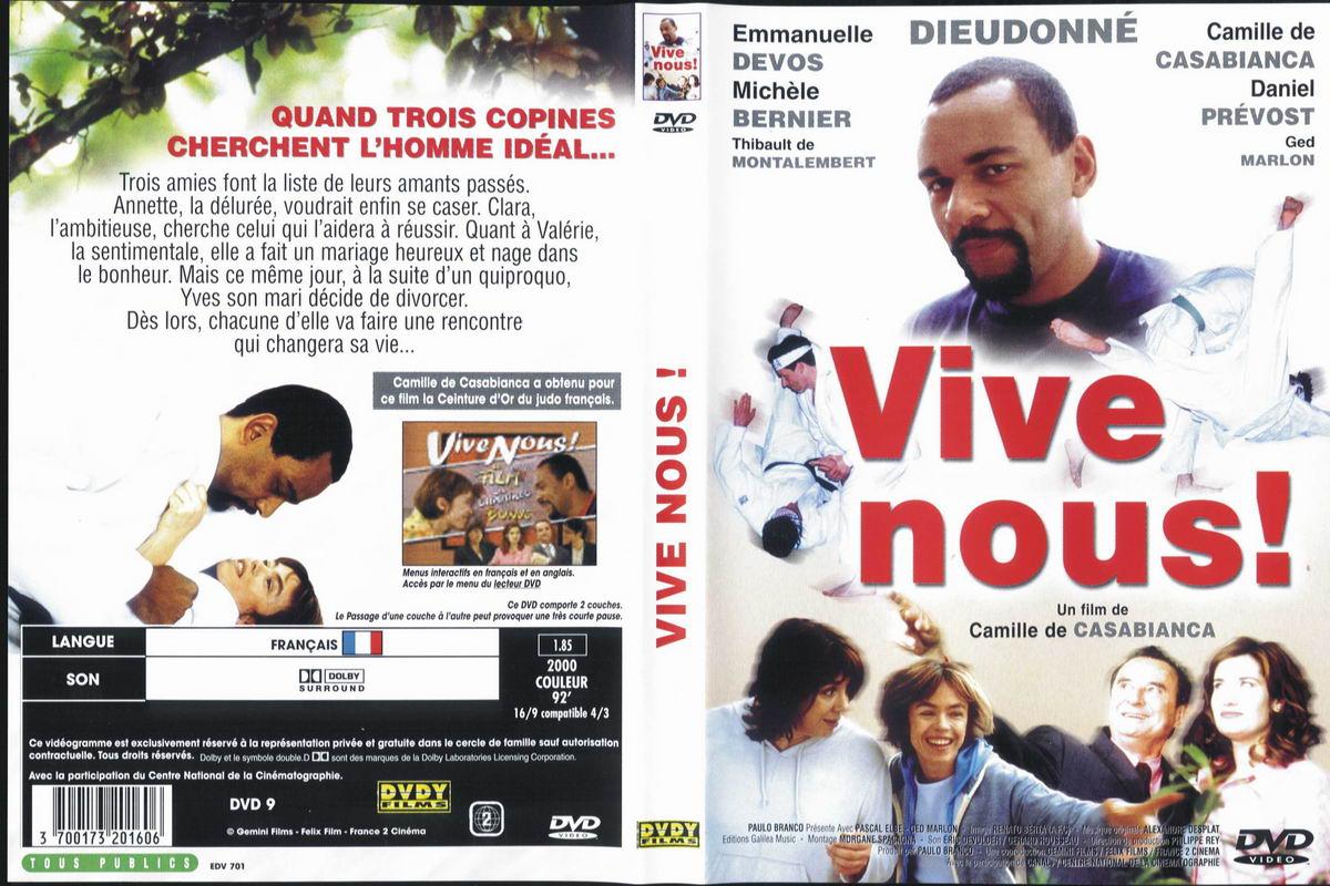 Jaquette DVD Vive nous